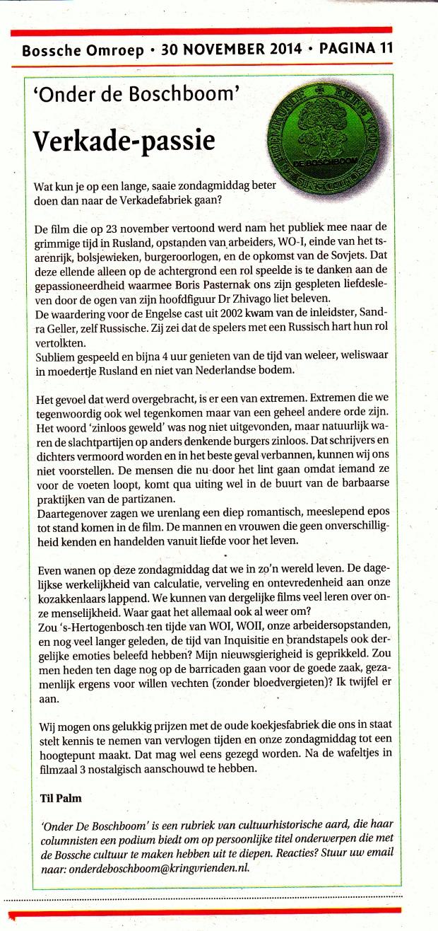 Artikel Dr. Zhivago (1)